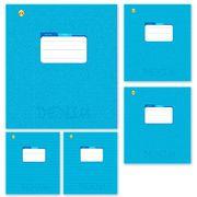 Зошит в клітинку 12 аркушів кольорова обкладинка, дизайн: Джинсовий фон Тетрада ТЕ01188