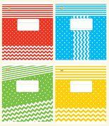 Зошит в косу лінію 12 аркушів кольорова обкладинка, дизайн: Фо-Нова Тетрада ТЕ03186