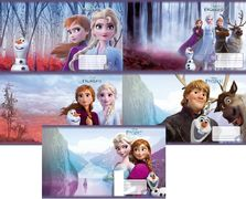 Зошит А5 (12 л/Тетрада кол Disney) клітинка серія Frozen,  Холодне серце 11901 (25/250)