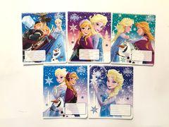 Зошит А5 (12 л/Тетрада кол Disney) клітинка серія Frozen. Сніжна 11918 (25/250)