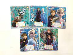 Зошит А5 (12 л/Тетрада кол Disney) клітинка серія Frozen-2. Осінь 11988 (25/250)