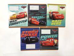 Зошит А5 (12 л/Тетрада кол Disney) лінія серія Cars. Best 12057 (25/250)
