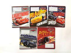 Зошит А5 (18 л/Тетрада кол Disney) клітинка серія Cars.Holiday 12071 (20/200)