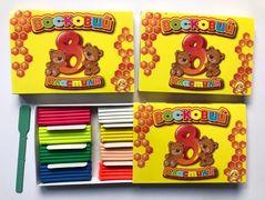 Пластилін 8 кольорів 160 грам Ліпландія Тетрада ТЕ461369/336
