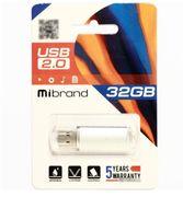 Флеш-пам'ять Mibrand Cougar 32GB Silver