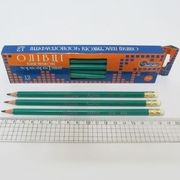 Олівець J.Otten 655В-НВ з гумкою (12/72)