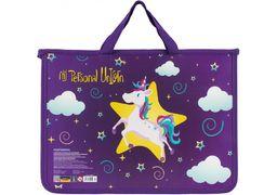 Портфель пластиковий на блискавці My Unicorn CF30001-04 (1)