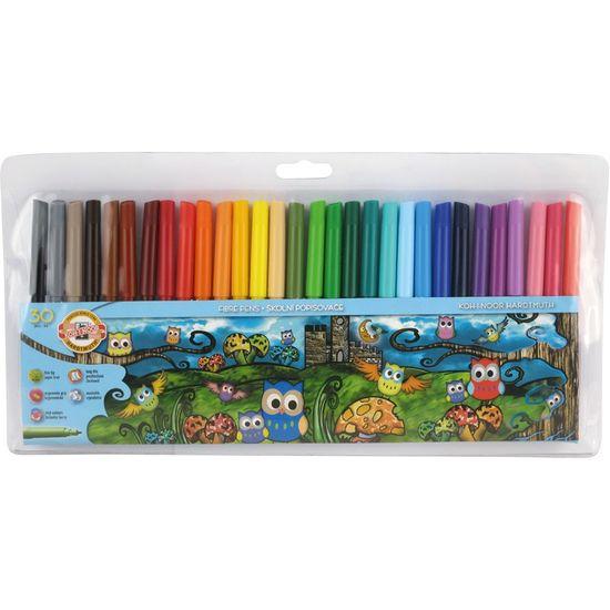 Фломастери 1012ЕТ Совенята, 30 кольорів, поліетиленова упаковка 1012ET/30 (1)