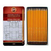 Олівці графітні 1500  Technic, НВ-10Н, 12 шт. 1502.I (1)
