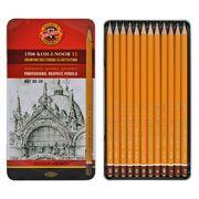 Олівці графітні 1500 Art, 8В-2Н, 12 шт. 1502.II (1)