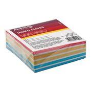 Папір для нотаток 90х90х30мм, проклеєний. Колір асорті. D8024 (1)