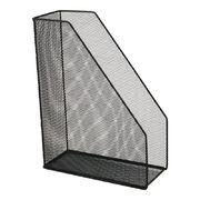 Лоток вертикальний 100x250x320мм металевий, чорн 2120-01-A (1)