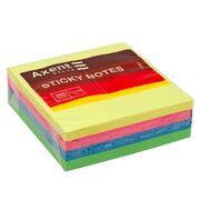 Блок паперу з клейким шаром, 75x75мм, 250 аркушів. Асорті неонових кольорів. Щільність 75г/м2. D3351 (1)