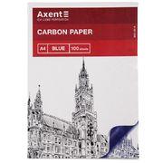 Папір копіювальний A4, 100 арк., синій 3301-02-A (1)