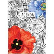 Щоденник недат. Агенда Графо Red flower 73-796 68 06 19 (1)
