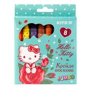Крейда воскова Jumbo, 8 кольорів HK Kite HK19-076 (1/12)