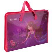 Папка-портфель на блискавці, 1 відділ., A4 Kite, Princess K19-202-01 (1)