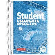 Коледж-блок А4 Premium, лін., 80 арк., Jeans 10 675 27 03 (1)