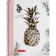 Коледж-блок А4 Premium, лінія, 80 арк., Pineapple біл.-рож. 10 679 27 651 (1)