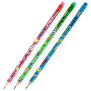 Олівець графітний з гумкою, 36шт., туба Kite K20-056-1 (36)