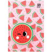 Блокнот тв. обкл., сквіш, А6, 80 арк., крап., Watermelon K20-285-4 (1)