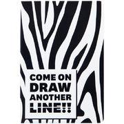 Книга записна тв. обкл, А5, 96 арк, кл, Animals Talk, Zebra 8450-02-A (1)