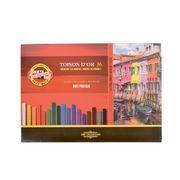 Суха м'яка крейда-пастель KOH-I-NOOR TOISON D'OR для художніх робіт, 36 кольорів 8585036001KS (1)