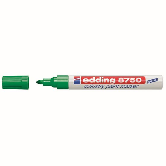 Маркер лаковий Industry Paint e-8750, для нанесення перманентних написів в агресивних промислових умовах,слід (2-4 мм) стійкий до кислот, розчинників, механічного стирання, напис витримує від -30 °С д