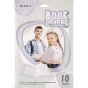 Плівка самоклеюча для книг, 38*27 см, 10 шт., прозора K20-307 (1)