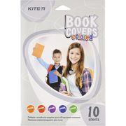 Плівка самоклеюча для книг, 38*27 см, 10 шт.,асорті кольорів K20-309 (1)