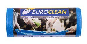 Пакети для сміття  35л/30 шт, сині, 500х600мм, 8мкм BuroClean EuroStandart 10200013 (1/70)