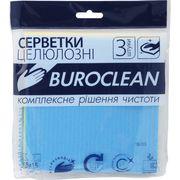 Серветки целюлозні вологопоглинаючі Buroclean 15х15, 3 шт/уп 10200112 (1/120)