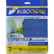 Серветка  для підлоги, мікрофібра, BuroClean EuroStandart 50х60 см 10200154 (1/100)