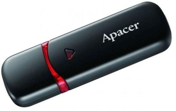 Флеш-пам'ять USB Apacer AH333 32GB Black/White 6315954 (1/25)