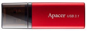 /Флеш-пам'ять Apacer AH25B 16GB Red 6442639 (1/25)