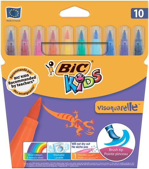Фломастери Vis Aquarelle, 10 кольорів bc8289641 (1/12/48)