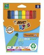 Фломастери Kids Visacolor XL, 8 кольорів bc8290062 (1/12)