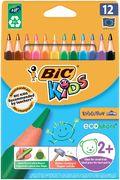 Олівці кольорові Kids Evolution, 12 шт bc82902912 (1/12/144)