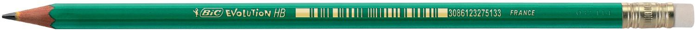 Олівець чорнографітний Evolution з гумкой, 655HB bc8803323 (1/12/1440)