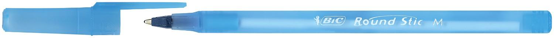 Ручка Round Stic, синя, 0.32 мм, зі штрих-кодом на штуку bc9214031 (1/60/540)