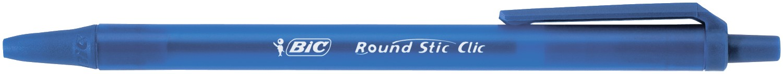 Ручка ROUND STIC CLIC, синий bc926376 (1/20/360)