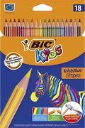 Олівці кольорові Evolution Stripes, 18 шт bc950524 (1/24)