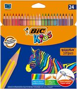 Олівці кольорові Evolution Stripes, 24 шт bc950525 (1/20)
