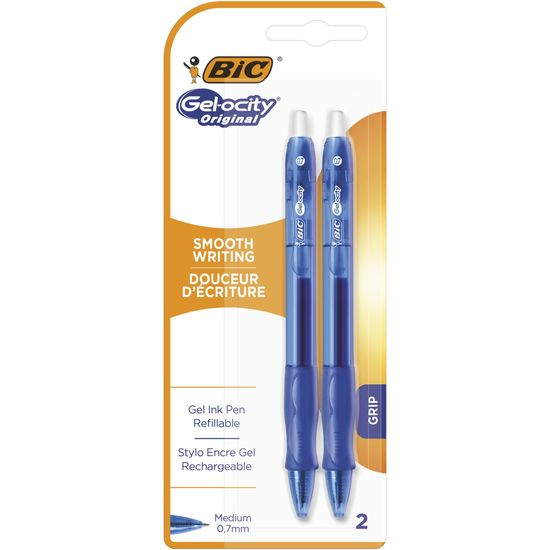 Ручка Gel-Ocity Original, синя 2 шт в блістері bc964754 (1/2/20)