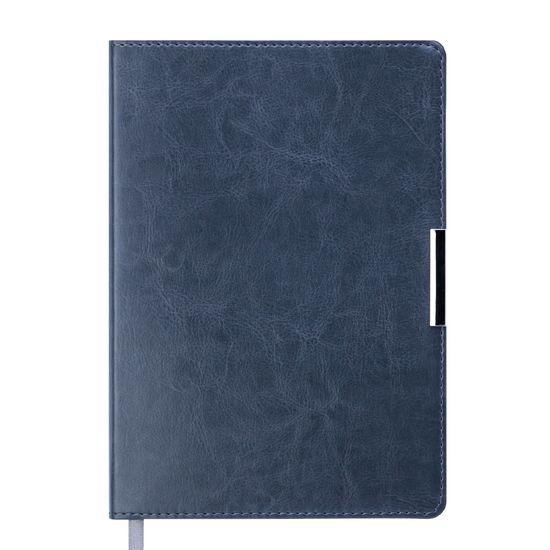 Щоденник недат. SALERNO, L2U, A5, сірий, шт.шкіра BM.2026-09 (1/30)