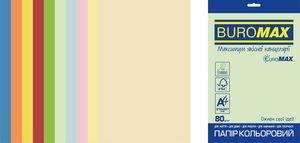 Набір кольорового паперу SUPER MIX, EUROMAX, А4, 80г/м2 (10х25/250арк.) BM.27216250E-99 (1/10)