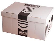 Короб для архівних боксів, 560х380х265 мм, білий BM.3270-12 (1/340)