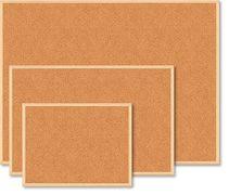 Дошка коркова JOBMAX, 60x90см, дер. рамка BM.0014 (1/10/50)