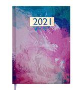 Щоденник датов. 2021 MIRACLE, A5, фіолетовий BM.2179-07 (1/10)
