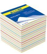 /Блок паперу для нотаток Веселка JOBMAX 90х90х70мм, не скл. BM.2249 (1/36)